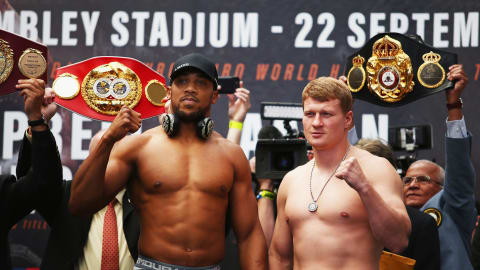 Joshua set for 'Olympic blockbuster' against Povetkin