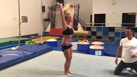 Бритни Спирс пропитывается олимпийским духом