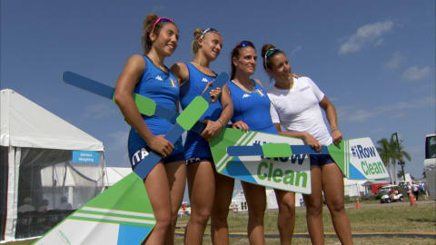 WADA 和 FISA 在2017年赛艇世锦赛期间举办反禁药活动