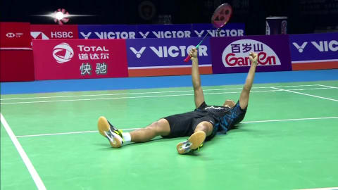 Ginting stuns Momota in China as Marin rules again