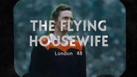 London 1948 - The Flying Housewife defeats prejudices (and the field)