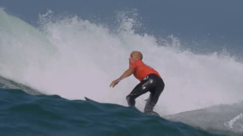 Fanning and Slater advance at Trestles