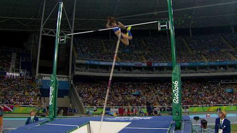 Gold for Greece's Stefanidi in Women's Pole Vault