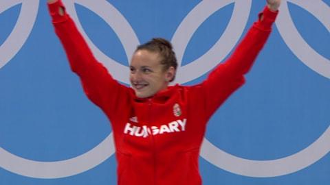 Women's 400m individual Medley Final   Rio 2016 Replays