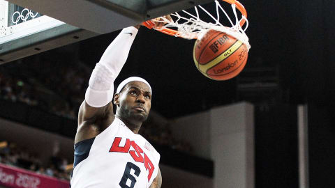 Best dunks by LeBron James