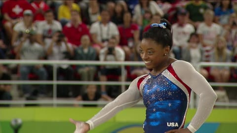 Biles to make competitive return on July 28