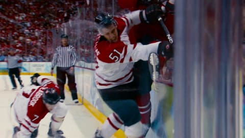 The anatomy of an ice hockey player