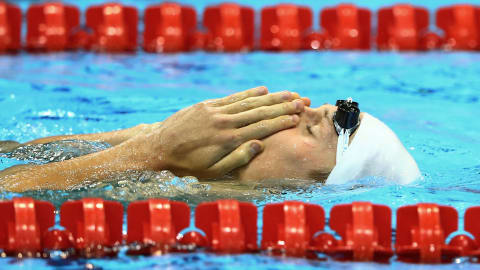 Agnel wins 200m Freestyle gold   London 2012 Replays