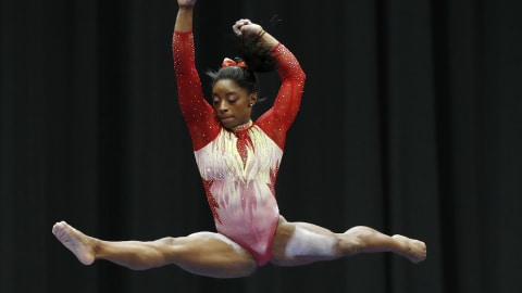 Simone Biles is back on top at U.S. Classic