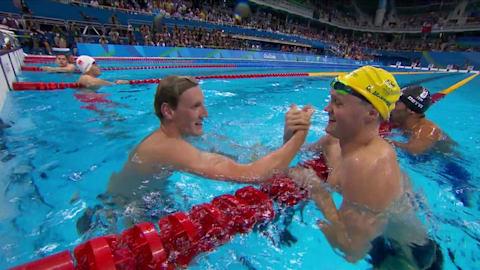 Men's 400m Freestyle Final   Rio 2016 Replays