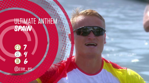 National anthem: The best of Spain in Rio
