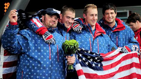 USA win Bobsleigh gold in Canada