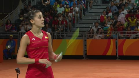 Marin makes badminton history for Spain