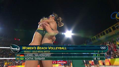 German pair win Beach Volleyball gold