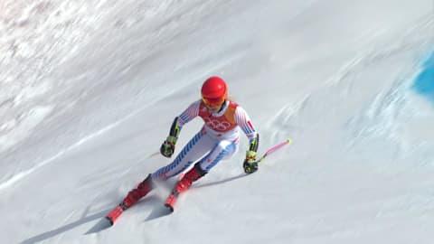 تعرج عملاق سيدات (2) - تزلج ألبي | بيونج تشانج 2018