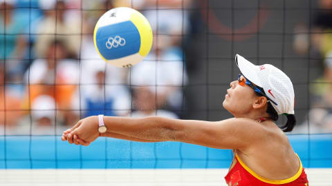 The beauty of Women's Beach Volleyball