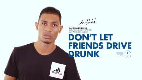 Wayde van Niekerk for global road safety