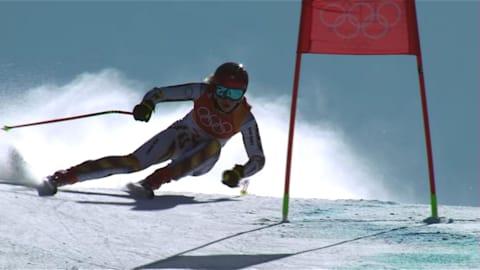 السوبر جي سيدات - التزلج الألبي | حصاد بيونج تشانج