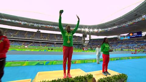 Ayana crushes Women's 10,000m world record