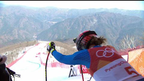 سباق الانحدار سيدات - تزلج ألبي | بيونج تشانج 2018