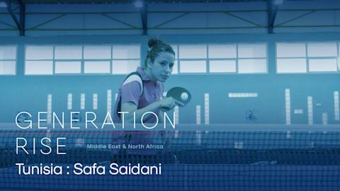 Safa Saidani: Reisen des tunesischen Tischtennisstars zahlen sich aus