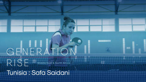 Safa Saidani: Tunisia table tennis star's travelling pays off