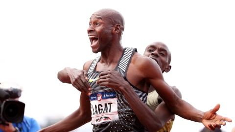 Find out why Bernard Lagat is being called 'crazy'