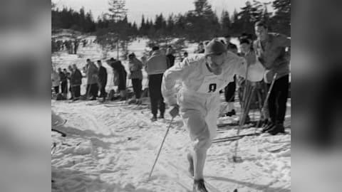 Il meglio della nazionale svedese, staffetta maschile sci di fondo