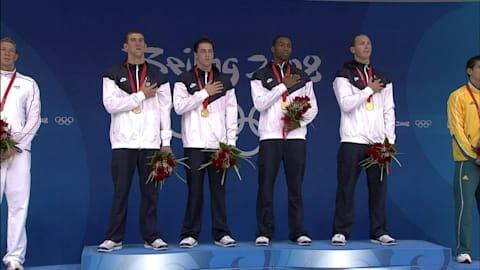 Late Lezak show delivers USA relay glory