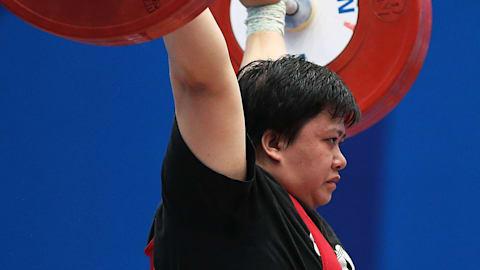 ウエイトリフティング・アジア選手権6日目、女子71kg級見附が銅メダル