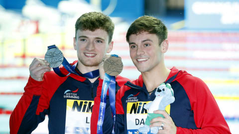 Tom Daley and Matty Lee finish 3rd as China remain perfect in diving at the World Championships