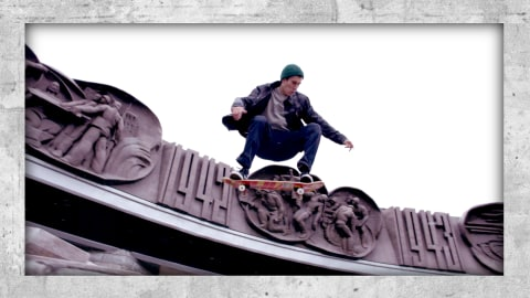 Die kalten Straßen Sibiriens machten Kaldikov zum weltklasse Skateboarder