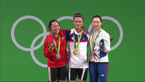 Weightlifting: Women's 53kg | Rio 2016 Replays