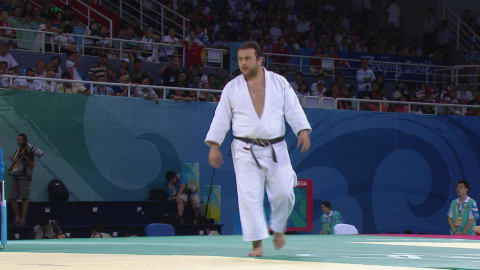 Judo @ Beijing 2008 - Men's over 100Kg Bronze medal match 2