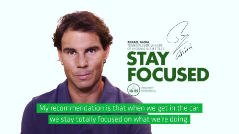 Rafael Nadal for global road safety