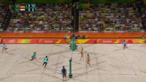 Egyptian women compete in beach volleyball for first time