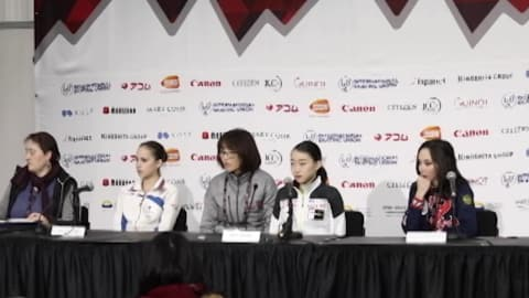 WATCH: Skaters react to first day of competition at Grand Prix Final