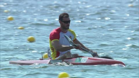 Rio 2016 Men's Kayak Single – 200m - Semifinal 1