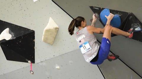 Johnson sobre el reto al que se enfrentan los escaladores en Tokio 2020