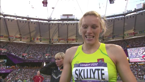 Austra Skujyte's long road to London 2012 bronze