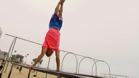 Danell Leyva: der akrobatische Actionheld