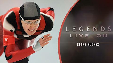Clara Hughes, do Canadá (versão longa)