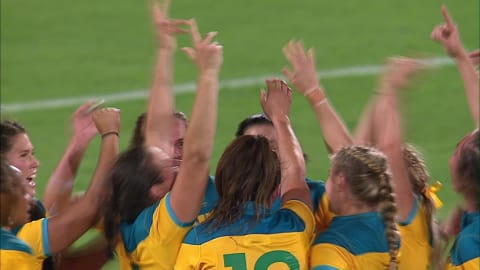 Australia beat New Zealand for Rugby gold