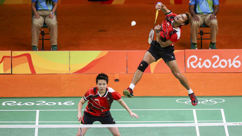 Best mixed doubles badminton rally from Rio 2016