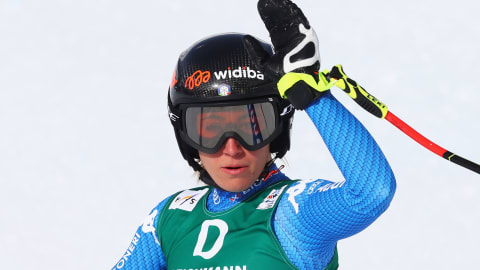 Olympic downhill champion Sofia Goggia breaks ankle in training