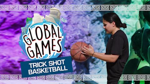 Trick Shot Basketball
