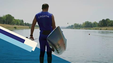 El legado familiar de la leyenda del canotaje olímpico Matija Ljubek