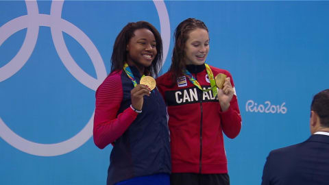 Women's 100m Freestyle Final | Rio 2016 Replays