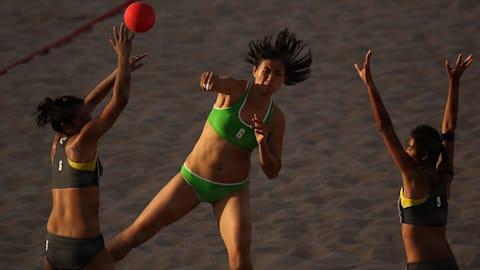 Полуфинал 1, женщины | Пляжный чемпионат Европы - Старе-Яблонки