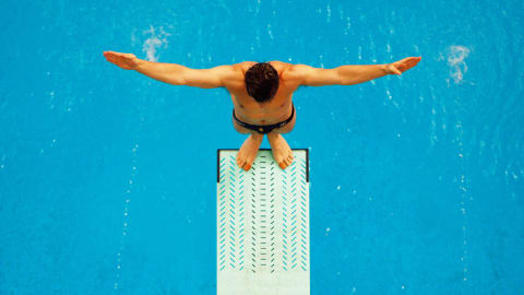 The beauty of Springboard Diving
